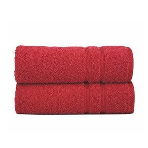 Ręcznik Sorema Basic Red, 70x140 cm