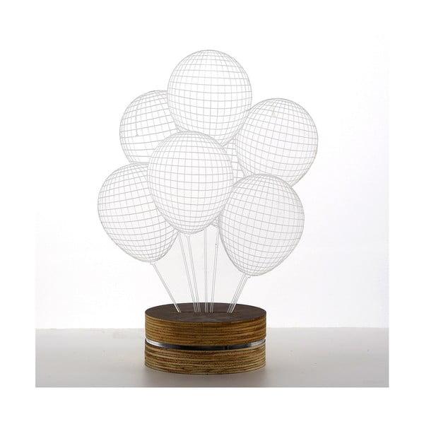 Lampa 3D stołowa Ballons