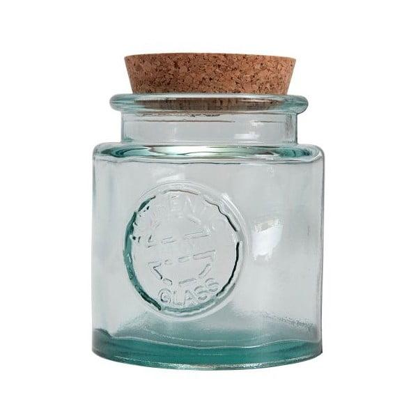 Szklany pojemnik z korkiem Authentic Vintage, średni
