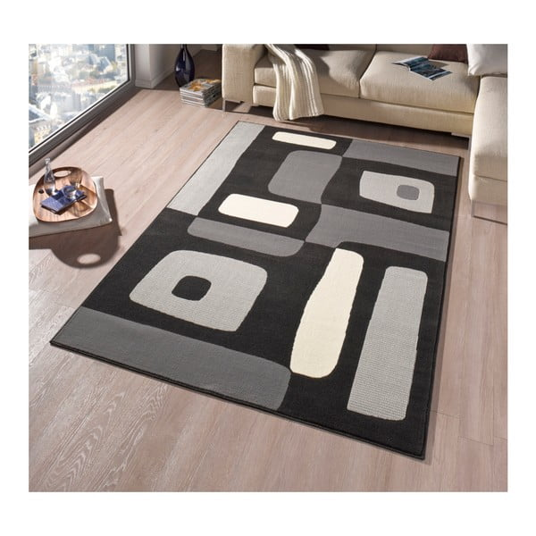 Dywan Hanse Home Hamla Will Black, 80 x 300 cm