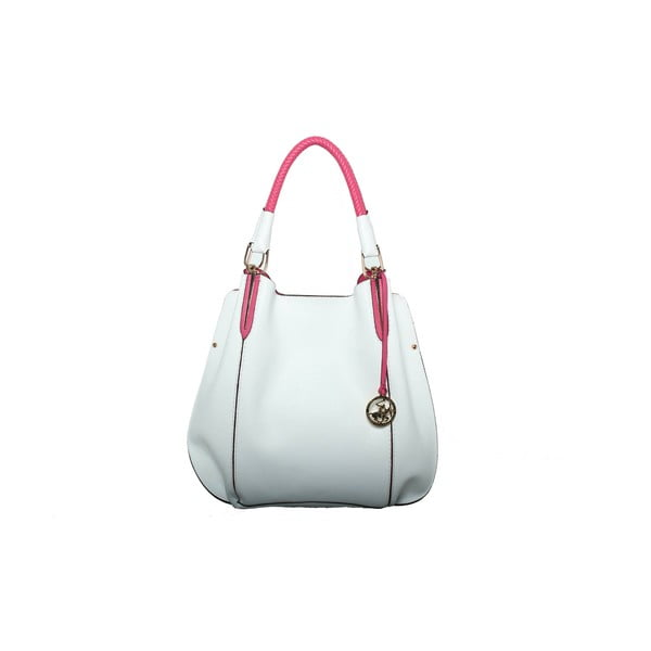 Torebka Beverly Hills Polo Club 447 - White/Fuchsia