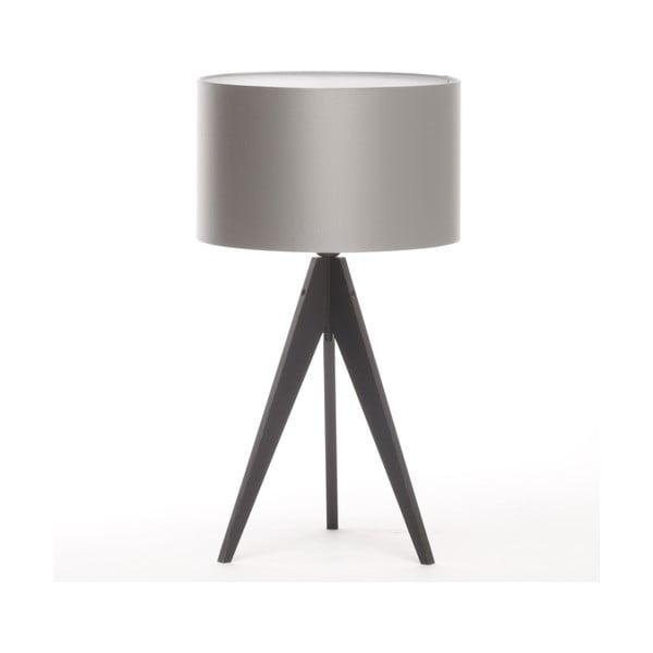 Lampa stołowa Artista Black/Silver, 28 cm