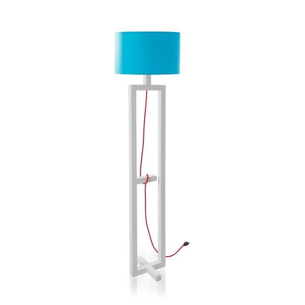 Lampa stojąca Dal White/Blue