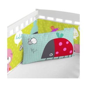 Regulowany ochraniacz do łóżeczka Baleno Hello, 210x40 cm