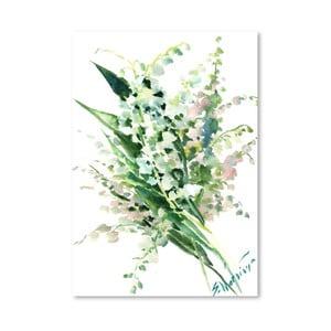 Plakat Lilies of the Valley (projekt Suren Nersisyan)