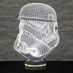 Lampa 3D stołowa Mask
