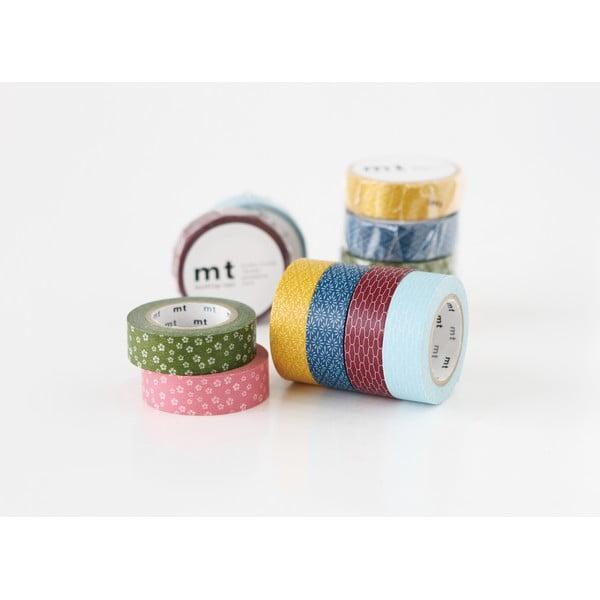 Taśma dekoracyjna washi MT Masking Tape Sacha, dł.10m