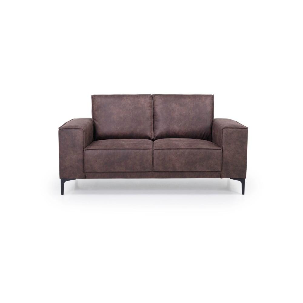 Czekoladowa sofa 2-osobowa Scandic Copenhagen
