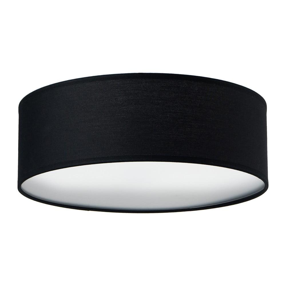 Czarna lampa sufitowa Sotto Luce MIKA, Ø 30 cm