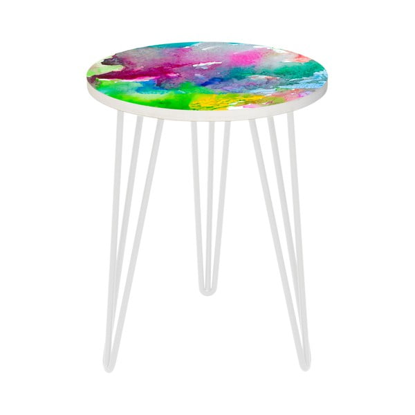 Zestaw 2 stolików Water Colour, 35 cm + 49 cm
