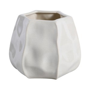 Doniczka Liam 11 cm, biała