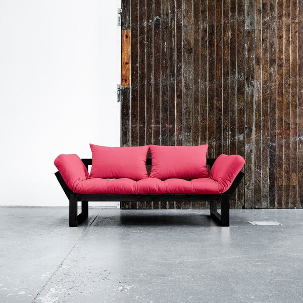 Sofa Karup Edge Black/Magenta
