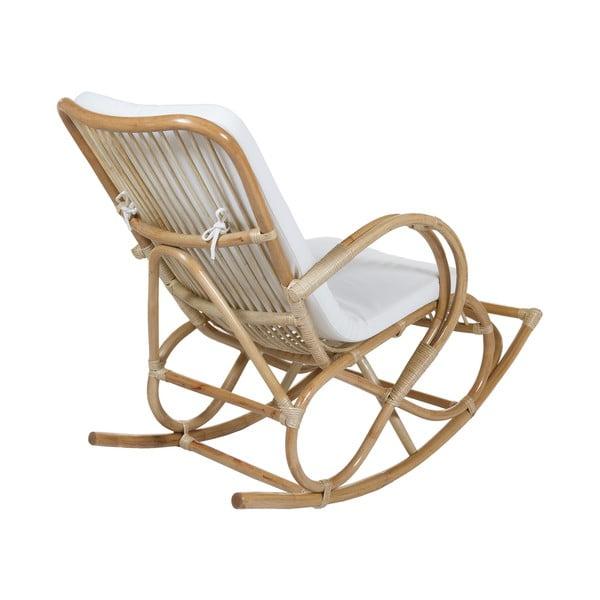 Bambusowy fotel bujany Santiago Pons Swing