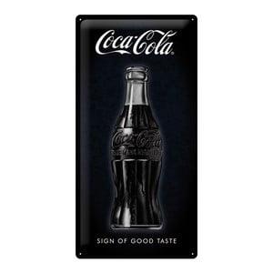 Blaszana tabliczka Black Coke, 25x50 cm