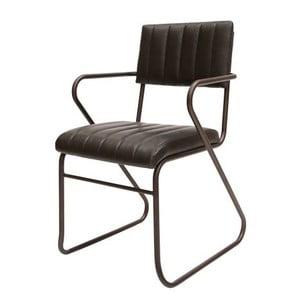 Czarne krzesło Canett Cavallo