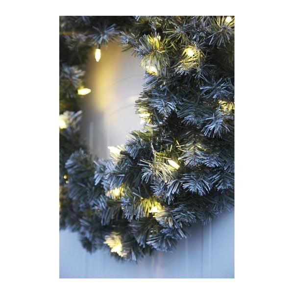 Świecący wieniec Snow Deco, 50 cm