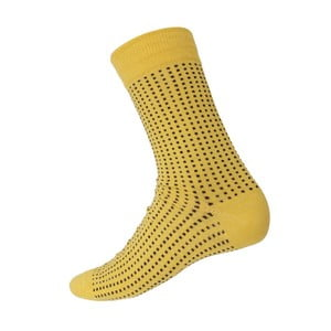 Skarpetki Mini Dots Yellow, rozm. 40-44