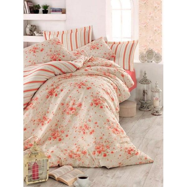 Różowa narzuta na łóżko Love Colors Jayla, 200 x 240 cm