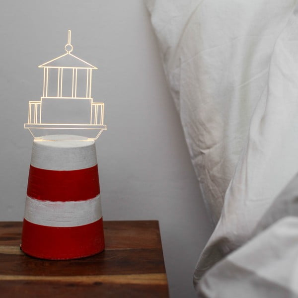 Lampka Red Lighthouse