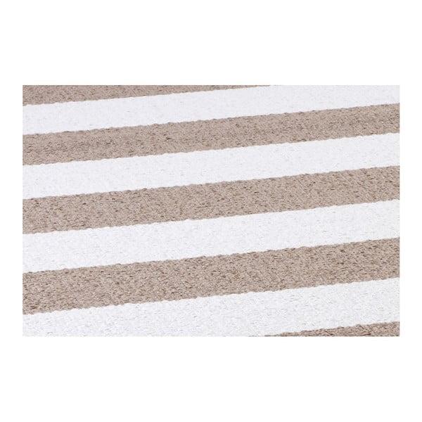 Brązowo-biały chodnik odpowiedni na zewnątrz Narma Birkas, 70x350cm