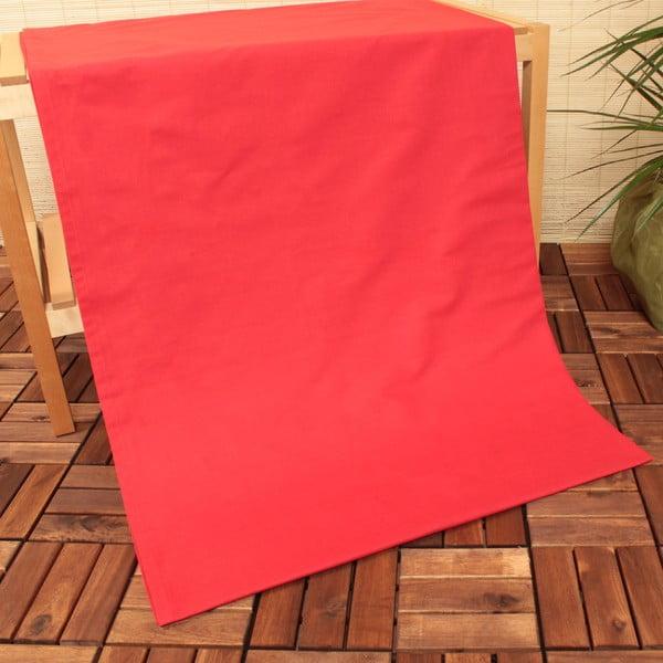 Prześcieradło nieelastyczne USPA Red, 240x260 cm