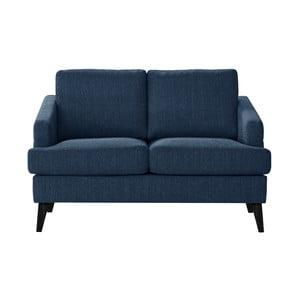 Niebieska sofa dwuosobowa Guy Laroche Muse