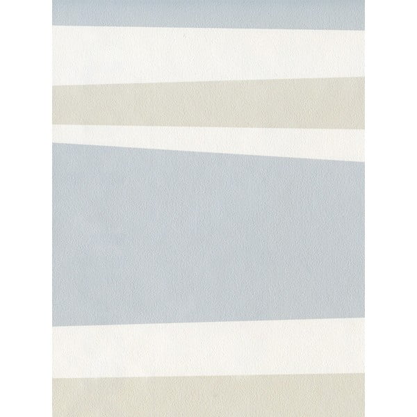 Fizelinowa tapeta Lounge 0,53x10,05 m, jasnoszary i kremowy