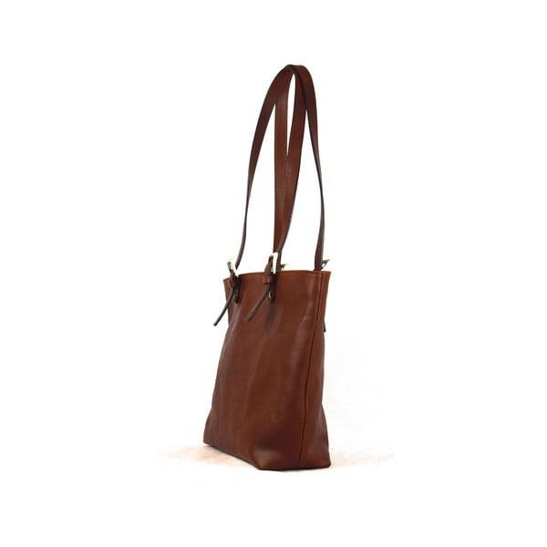 Skórzana torebka Santo Croce 132056 Brown