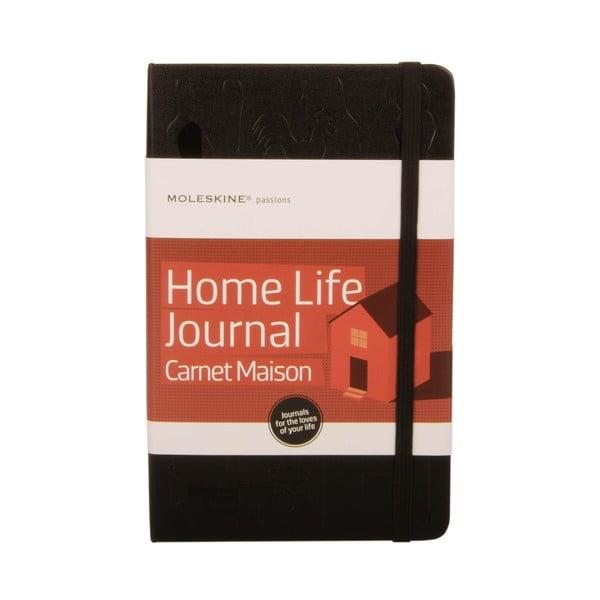 Notatnik Moleskine dla miłośników  pięknych domów Passion