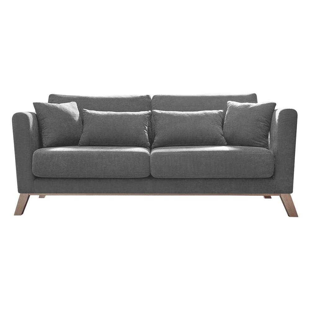Szara sofa Bobochic Paris Doblo