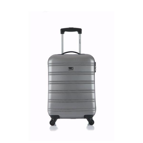 Srebrna walizka podręczna Blue Star Bilbao