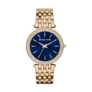 Zegarek damski w kolorze złota z niebieskim cyferblatem Michael Kors Darci