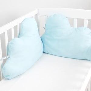 Ochraniacz do łóżeczka Mr. Fox Nube Blue, 60x40 cm