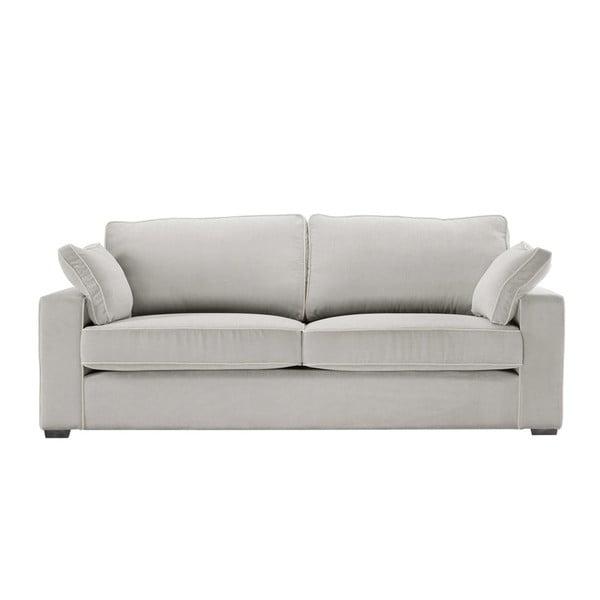Sofa 3-osobowa Jalouse Maison Serena, jasnoszara