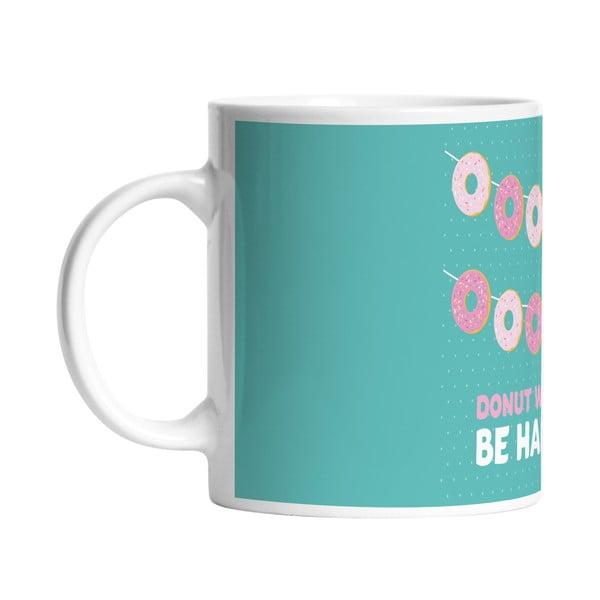 Ceramiczny kubek Donut Worry, 330 ml