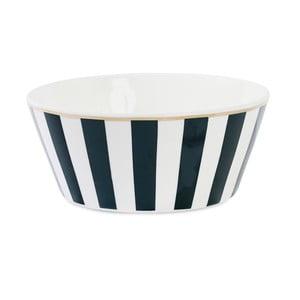 Miska ceramiczna Étoile Stripe Black