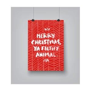 Plakat Americanflat Animal, 30x42 cm