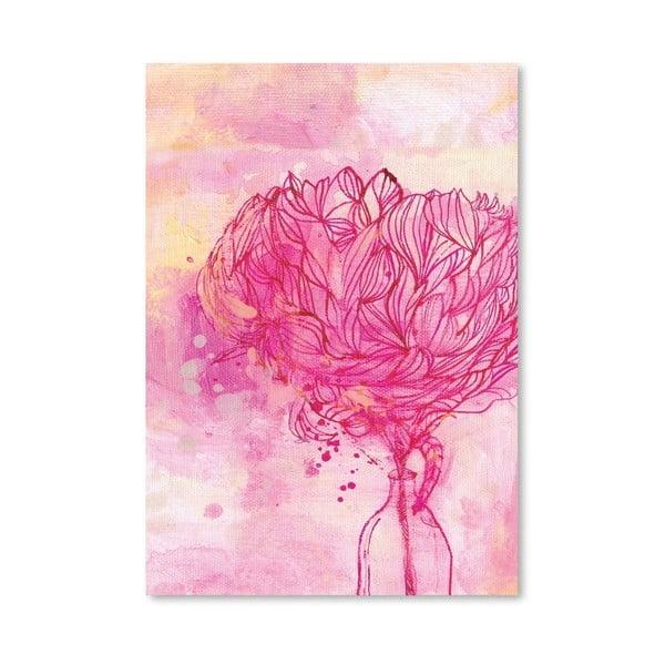 Plakat Painted Peony, 30x42 cm