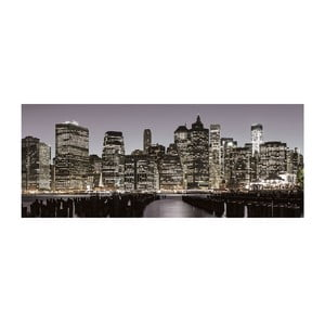 Szklany obraz New York Skyline 50x125 cm