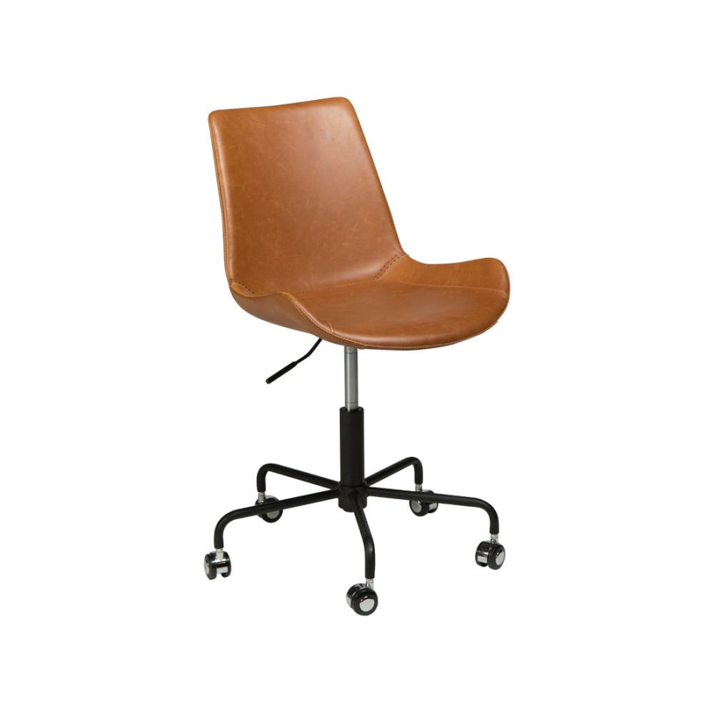 Jasnobrązowe krzesło biurowe DAN-FORM Denmark Hype