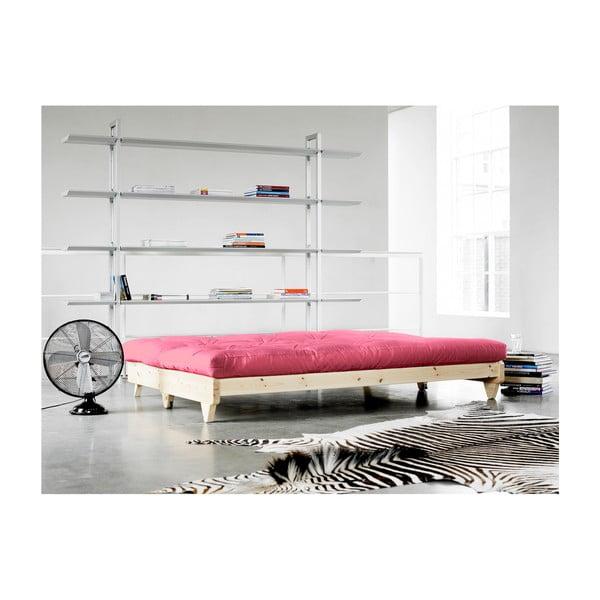 Sofa rozkładana Karup Fresh Raw/Magenta