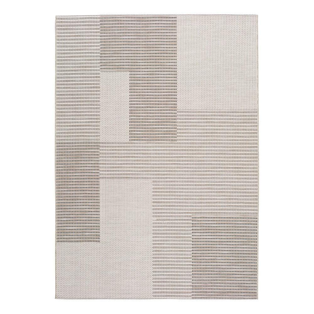 Beżowy dywan odpowiedni na zewnątrz Universal Cork Squares, 155x230 cm