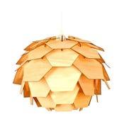 Lampa wisząca w kolorze drewna ScanLamps Carpatica, ⌀41cm