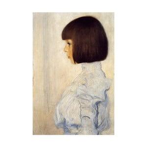 Reprodukcja obrazu Gustava Klimta - Portrait of Helene Klimt, 70x45 cm