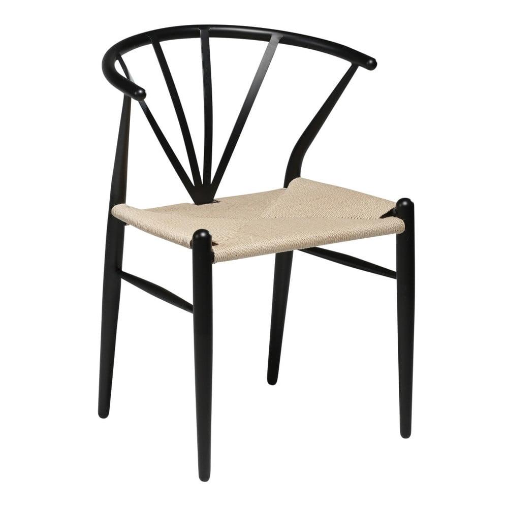 Czarne krzesło DAN–FORM Denmark Delta