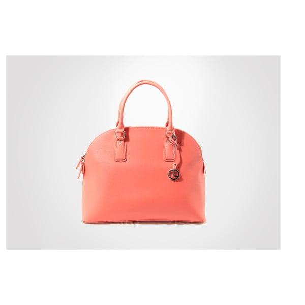 Skórzana torebka Mary, coral