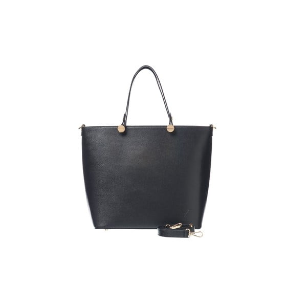 Skórzana torebka Miss Black