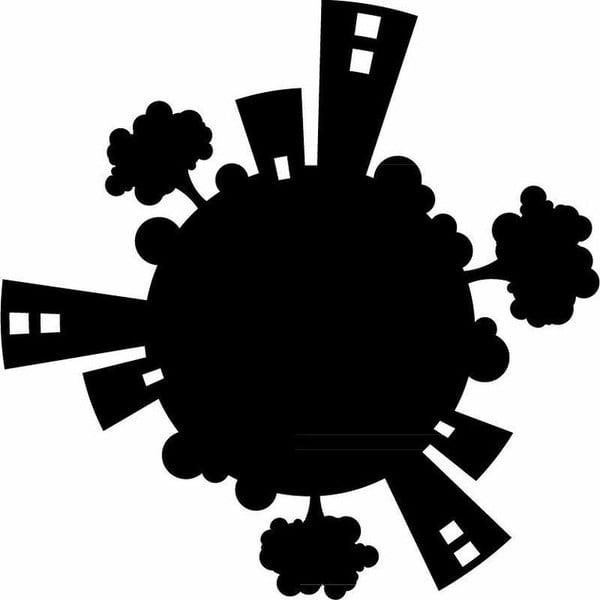 Naklejka Planet for Plug