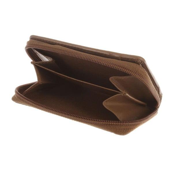 Skórzany portfel Opal Biscuit