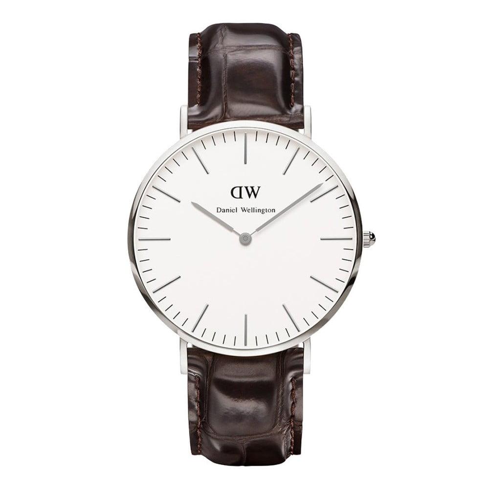 04d0d52472da71 Zegarek męski ze skórzanym paskiem Daniel Wellington Oxford | Bonami